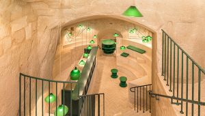 Un'enoteca a tre livelli incastonata nei Sassi di Matera