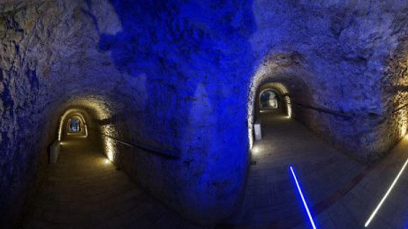 Le gallerie segrete di Catanzaro nate sui resti del Castello Normanno