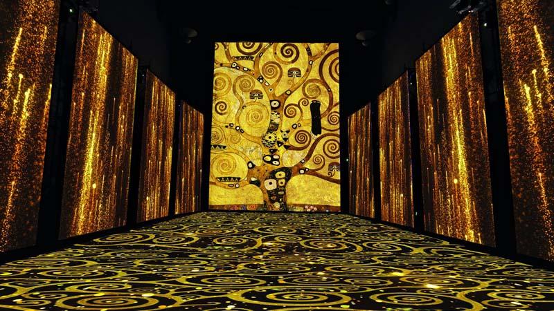 "Klimt Experience: al Mudec di Milano la mostra ""non mostra"""