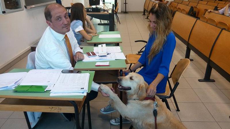 Ansia da esame? La pet-therapy sbarca all'università di Teramo