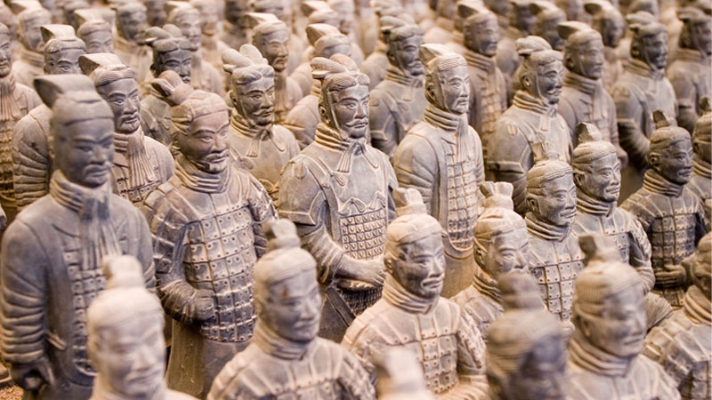 In mostra a Napoli l'esercito di terracotta del primo imperatore cinese
