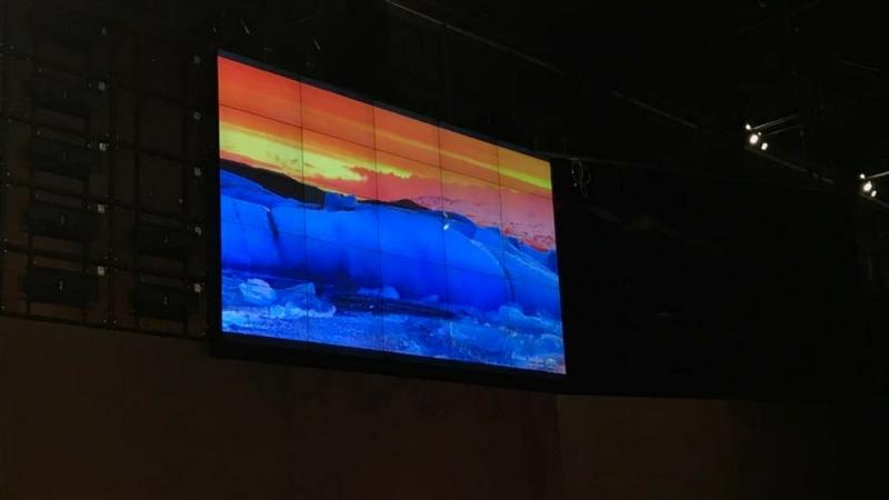 """OGR: la """"cattedrale"""" industriale ha il videowall più grande d'Italia"""