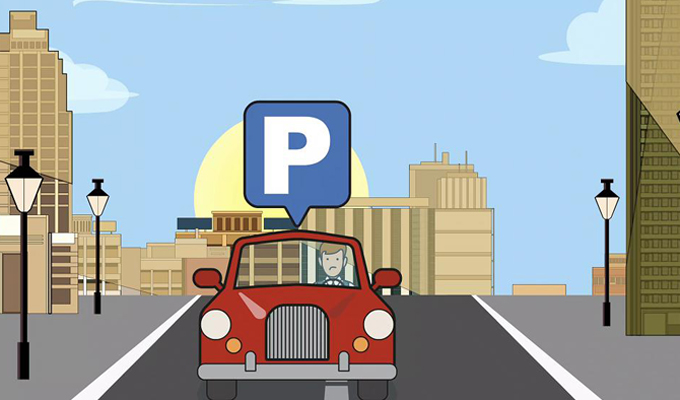 Bee-P app per parcheggiare