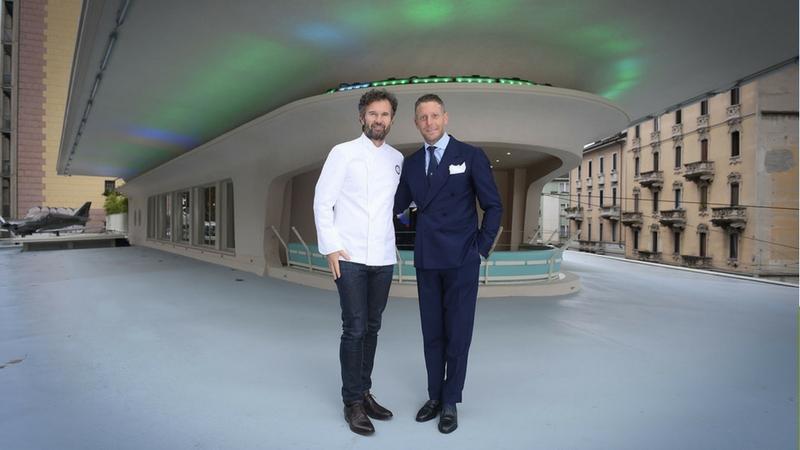 Cracco: nuovo ristorante a Milano con Lapo Elkann