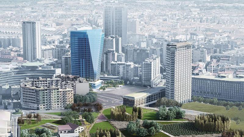 Gioia 22 Nuovo grattacielo di Milano Arabia Saudita