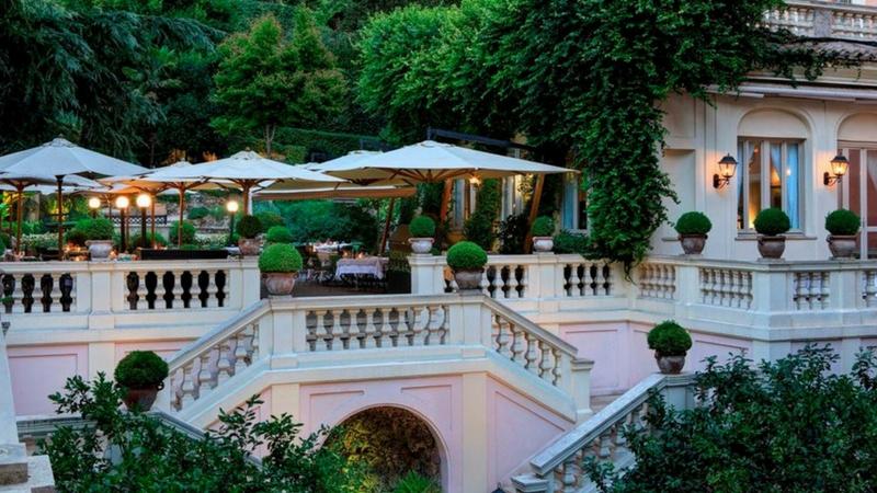 Ristoranti all'aperto Roma: Le Jardin De Russie