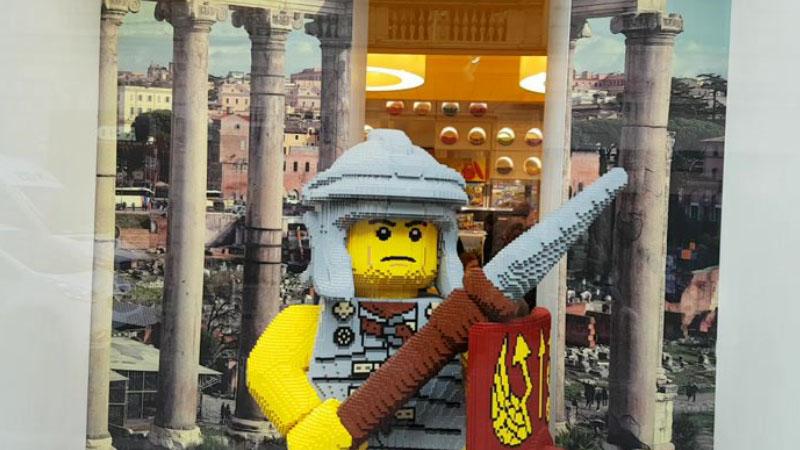 A Roma il megastore della Lego