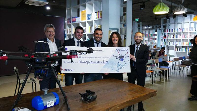"""Premio """"NatiPer"""": vince il drone trasporta-sangue"""