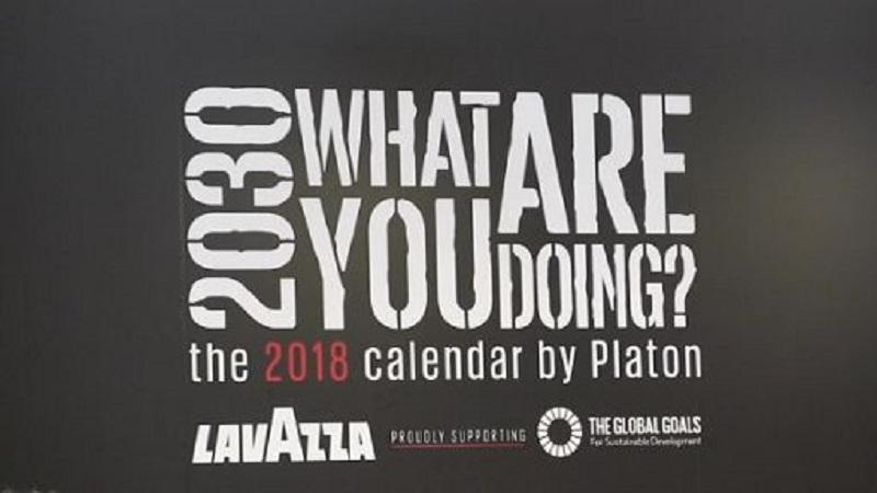 Lavazza/Calendario Lavazza 2018: 17 ritratti per uno sviluppo sostenibile