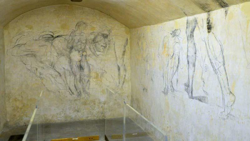Nel 2020 apre a Firenze la stanza segreta di Michelangelo
