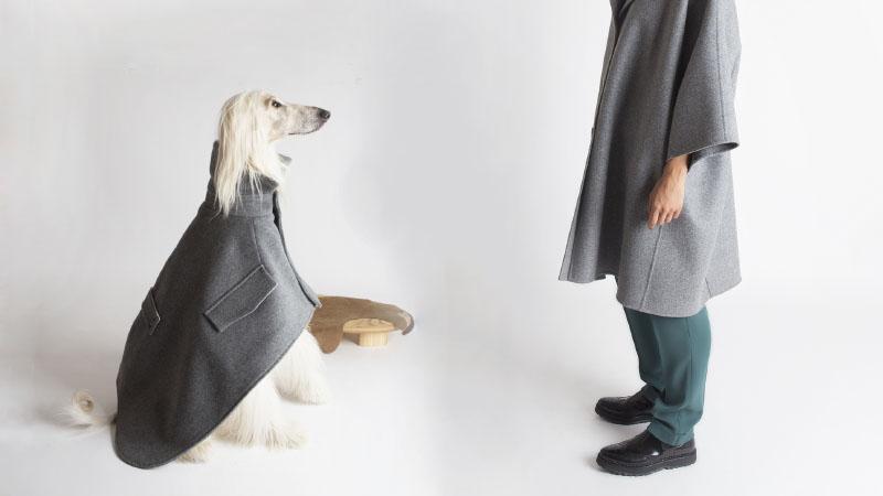 A MIlano c'è una boutique dove le signore possono vestirsi en pendant con i loro cani