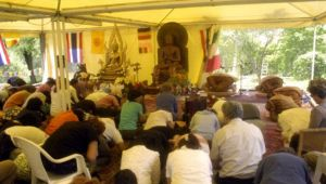 Santacittarama - sui monti sabini il monastero buddista giardino del cuore sereno