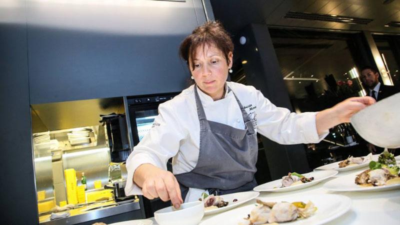 Per MIchelin Fabrizia Meroi è la donna chef dell'anno