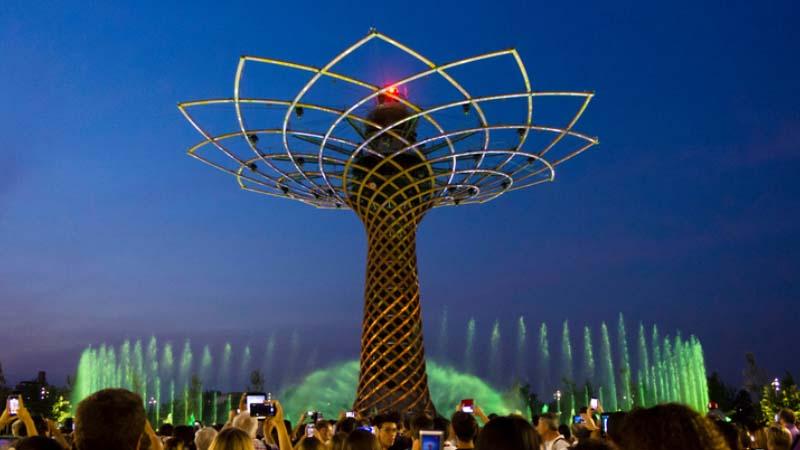 Milano, Expo passa il testimone a Mind e l'Albero della vita si riaccende