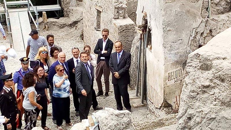 Pompei rinvenuta scritta elettorale antica di duemila anni