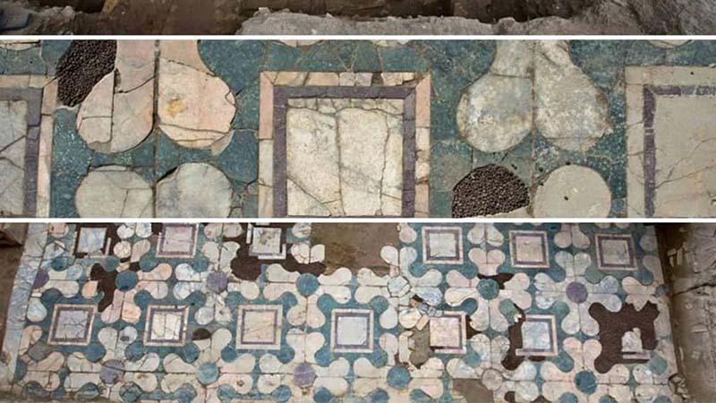 Gli enigmatici scavi sul lungo Tevere riportano alla luce tombe e marmi raffinati