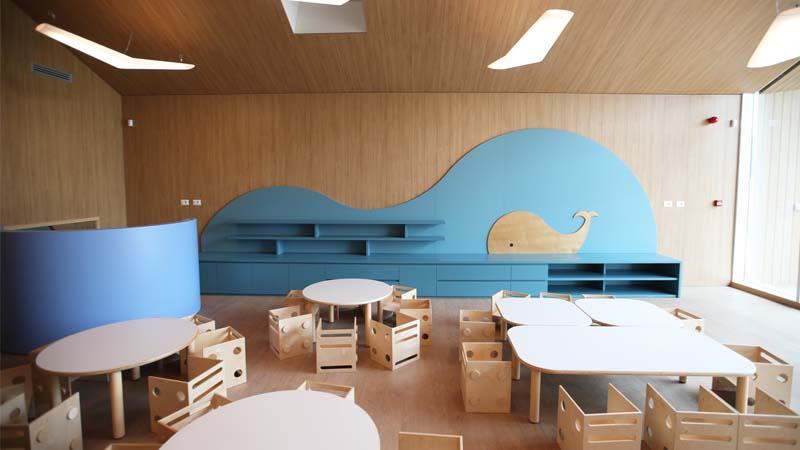 Inaugurato Babylife, il primo asilo nido in legno di Milano