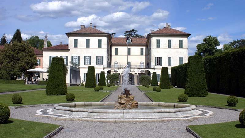 Villa Panza a Varese, il regno dei colori