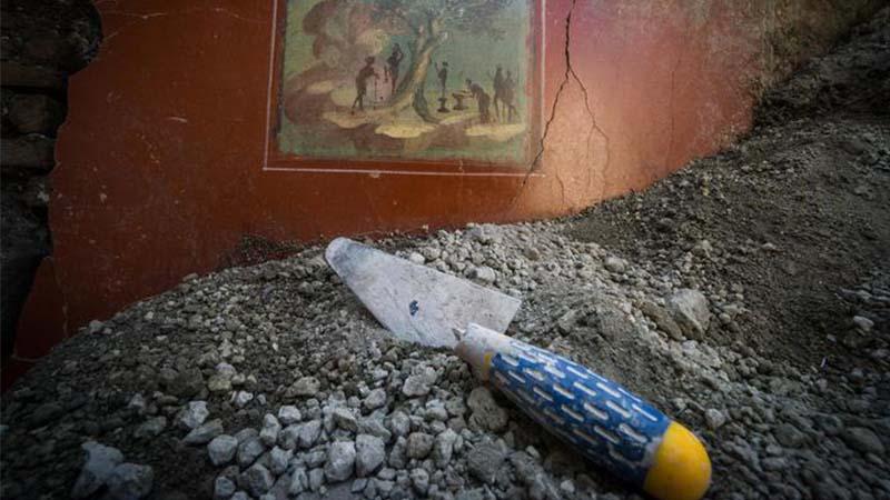 A Pompei torna alla luce la casa vintage