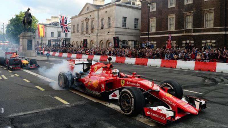Formula 1 Milan festival, il gp tra le strade
