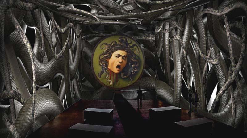 Caravaggio oltre la tela, la mostra immersiva alla Permanente di Milano