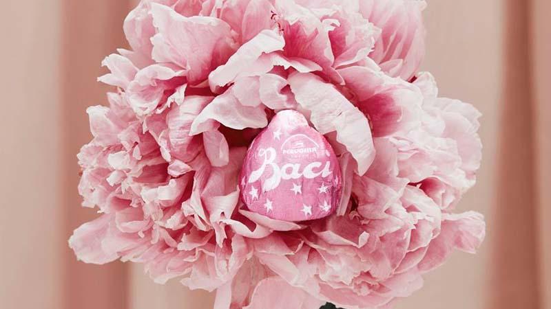 Perugina bacio rosa