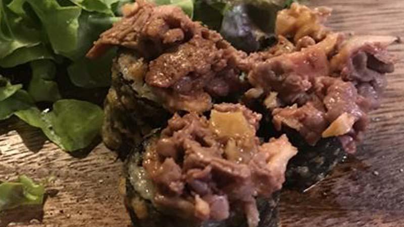 Sushi al lampredotto