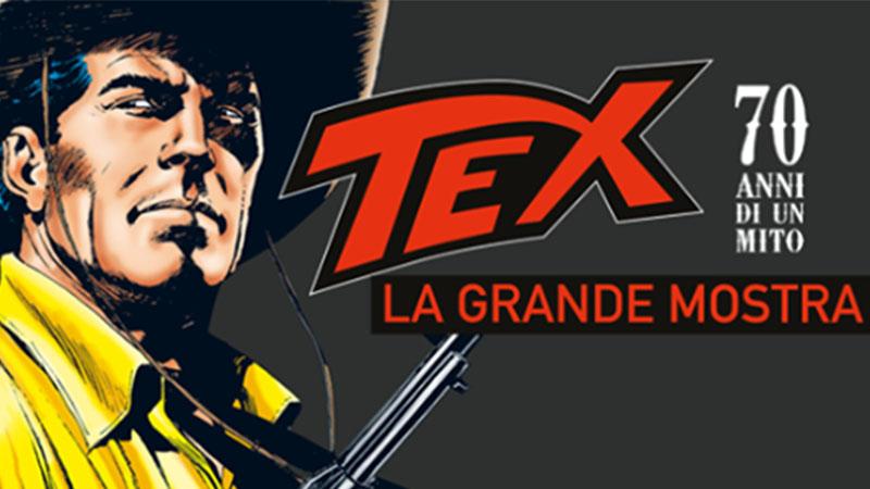 Tex la grande mostra a Milano