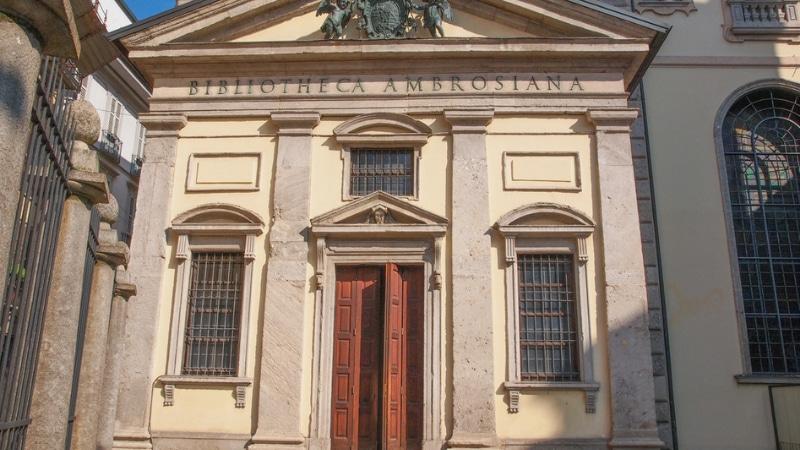 Metro cordusio biblioteca ambrosiana milano
