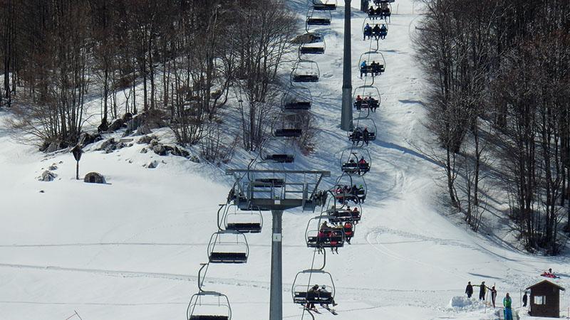 Sciare centro Italia