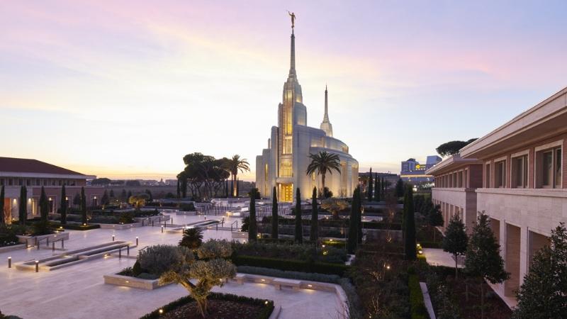 tempio roma mormoni