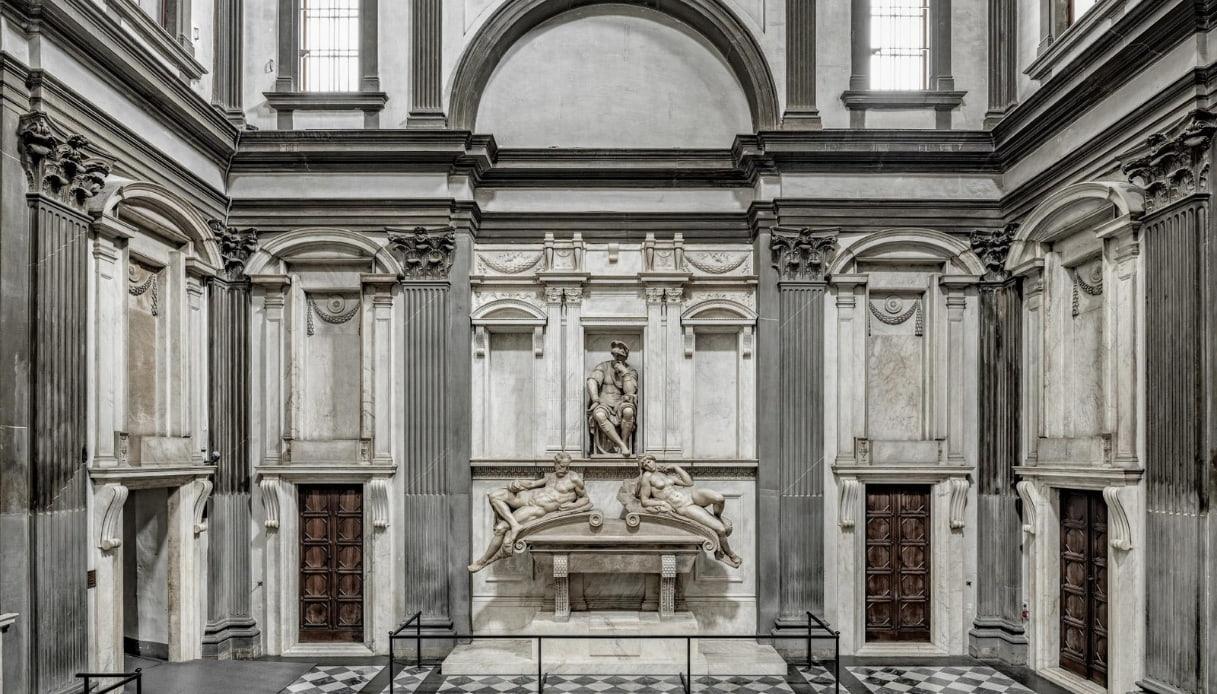 Una nuova luce fa risplendere la Sagrestia Nuova di Michelangelo a Firenze