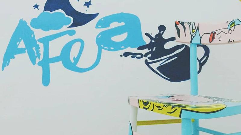 Palermo b&b street artist