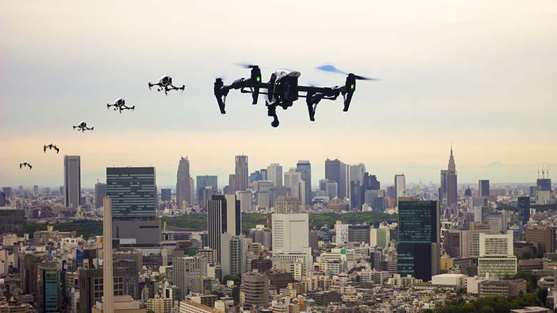 droni a Torino