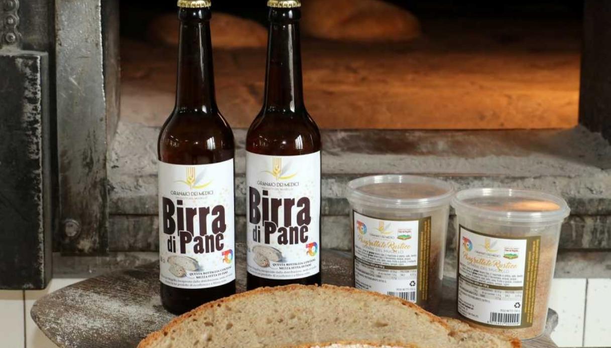 Gli scarti di pane diventano birra