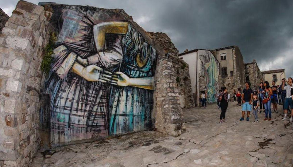 Civitacampomarano street art