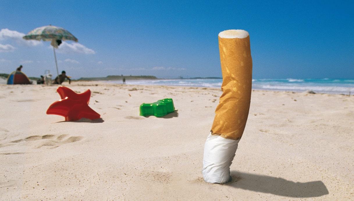 Divieto di fumo sulle spiagge