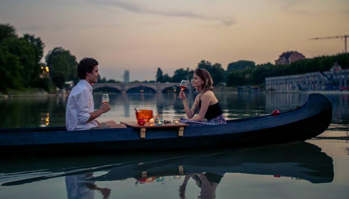 Torino: l'aperitivo ora è in canoa