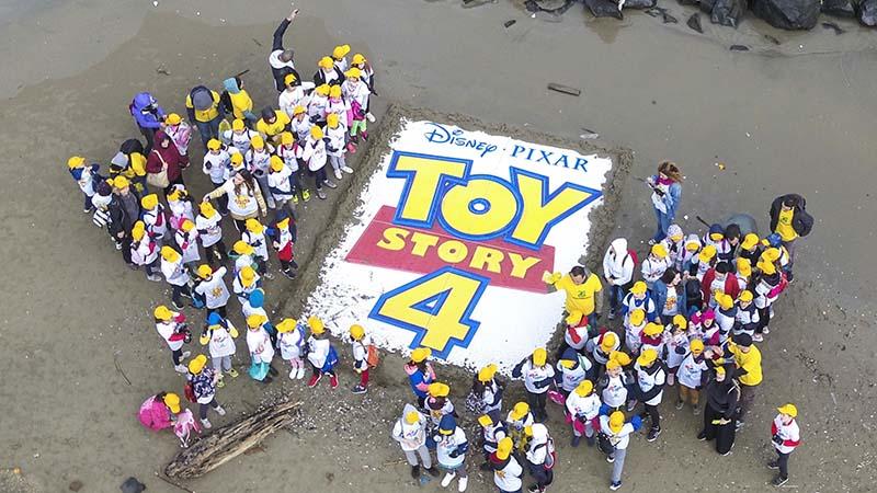 """Legambiente e Toy Story insieme per """"Spiagge e Fondali puliti"""""""