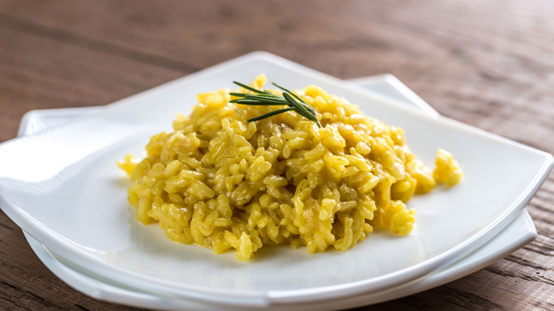 Risotto milanese solidale