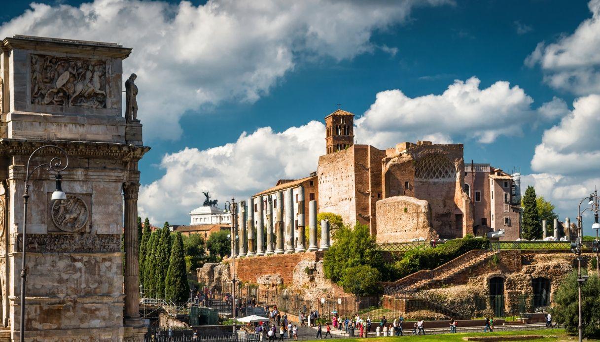 tempio venere roma fendi