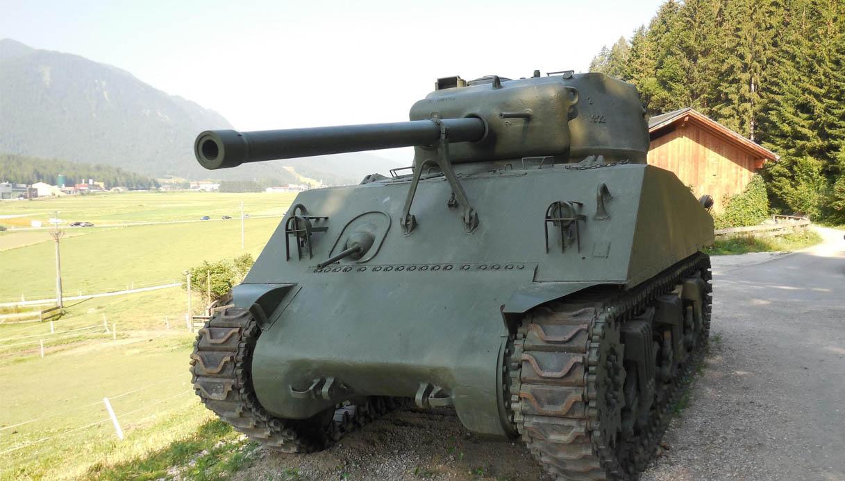 Perché un carro armato americano è sbarcato sulle Dolomiti