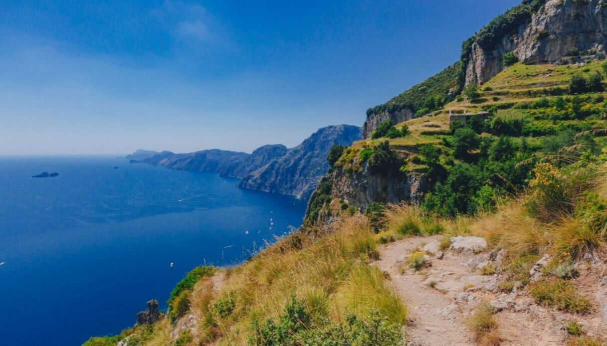 Lo spettacolare Sentiero degli Dei in Costiera Amalfitana