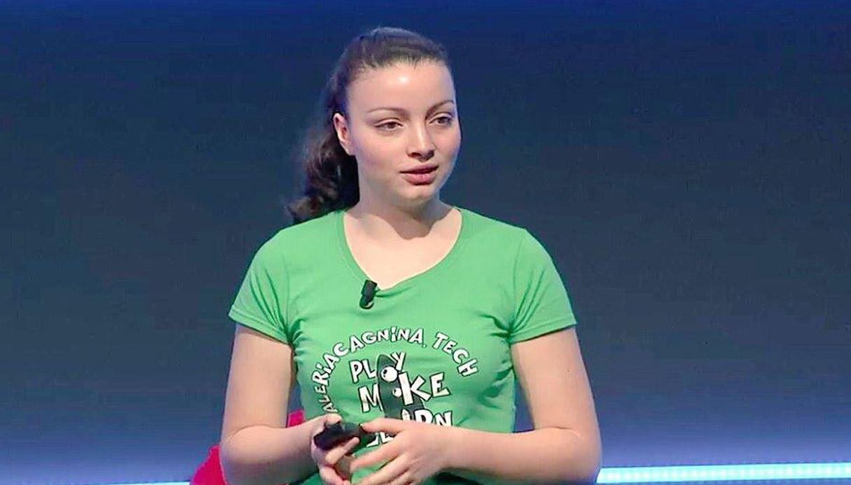 Valeria Cagnina, eccellenza della robotica nel mondo a 18 anni