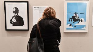 Banksy in mostra a Genova: oltre 100 opere a Palazzo Ducale