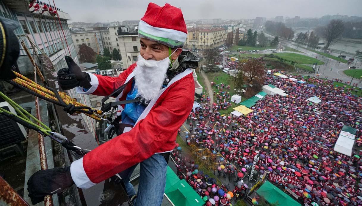A Torino il Raduno di Babbi Natale più grande d'Italia