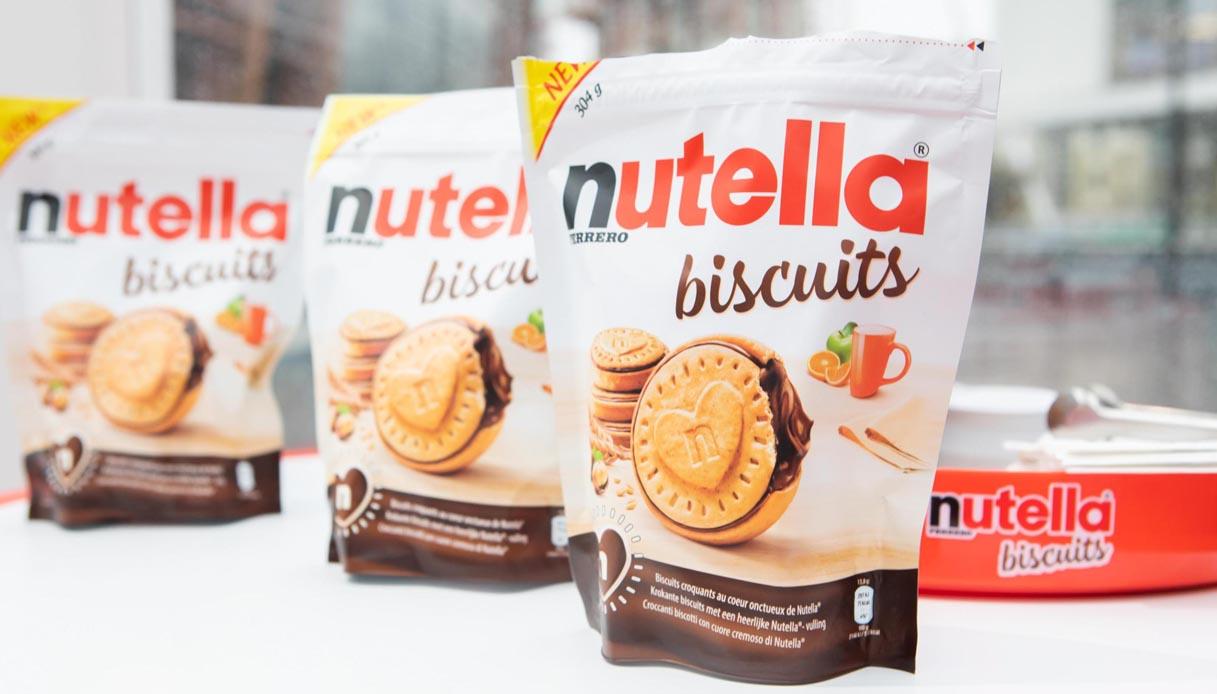 A Napoli è nato il panettone ai Nutella Biscuits