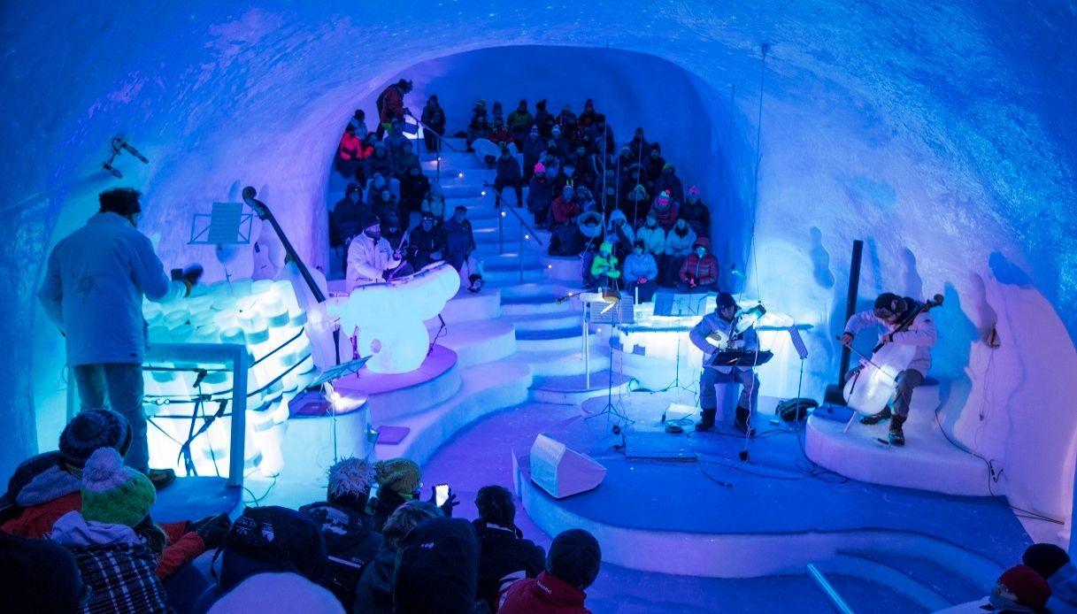 Ice Music Festival 2020: concerti in igloo sul Ghiacciaio Presena