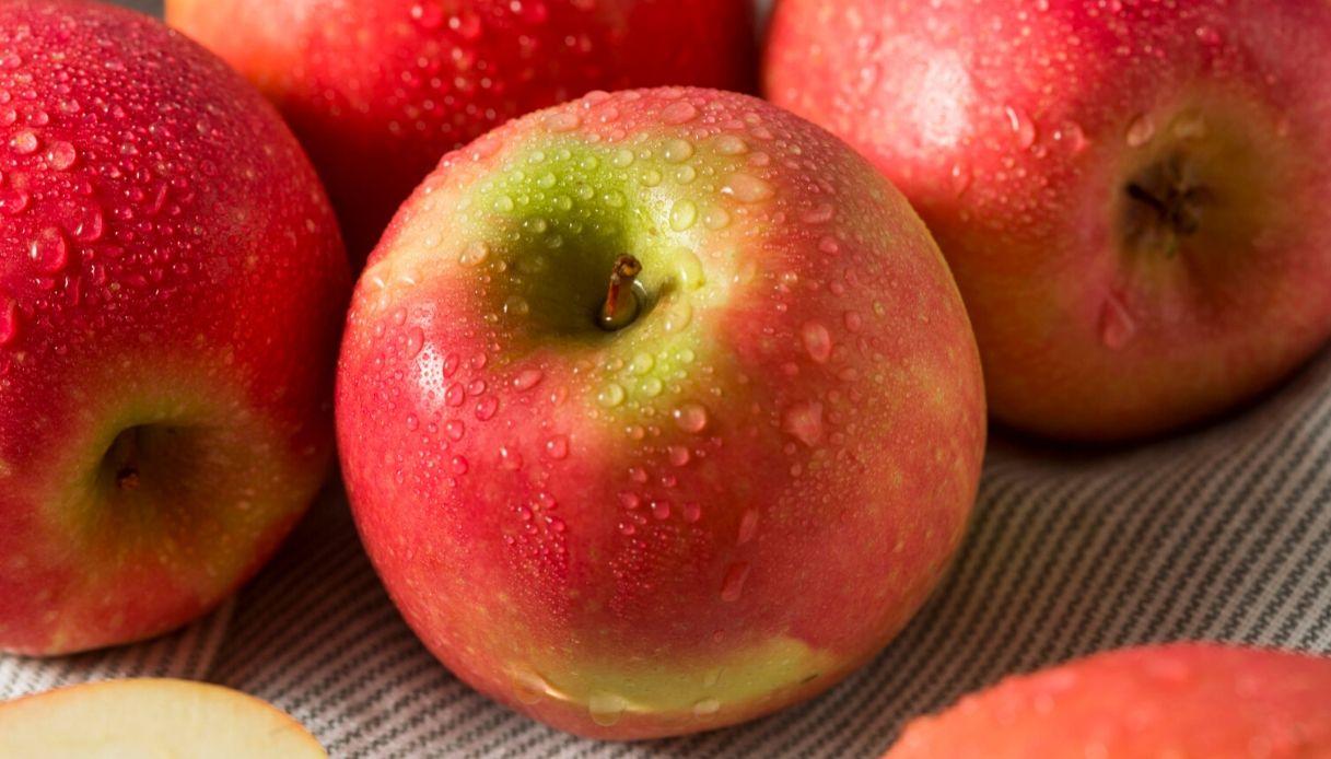 La mela rosa dei Monti Sibillini è il frutto della salute