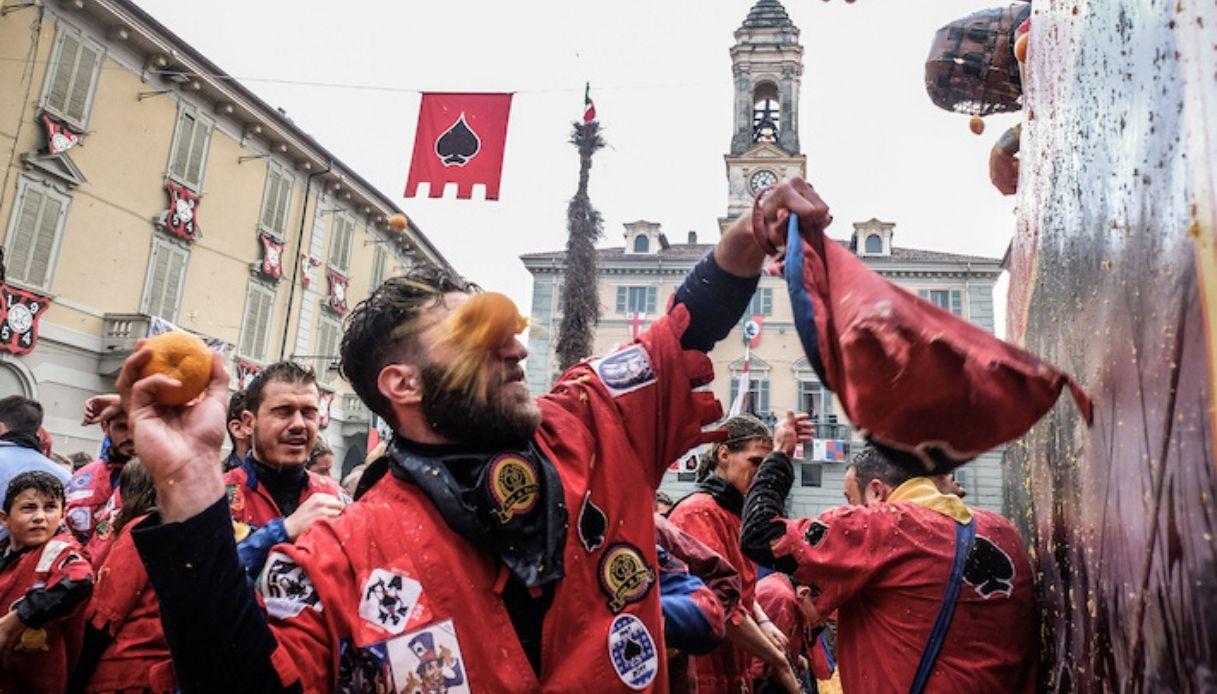 Carnevale di Ivrea 2020: date e programma Battaglia delle Arance